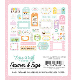 Echo Park Welcome Easter:  Frames & Tags
