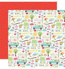 Echo Park Welcome Spring Paper: Sunny Spring Days