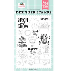 Echo Park Welcome Spring: Sweet Day Stamp Set
