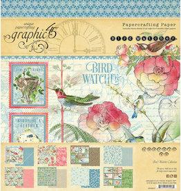 GRAPHIC45 Bird Watcher 8x8 Pad