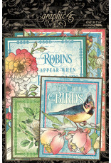 GRAPHIC45 Bird Watcher Journaling Cards