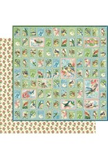 Graphic 45 Bird Watcher Paper: Best of Friends