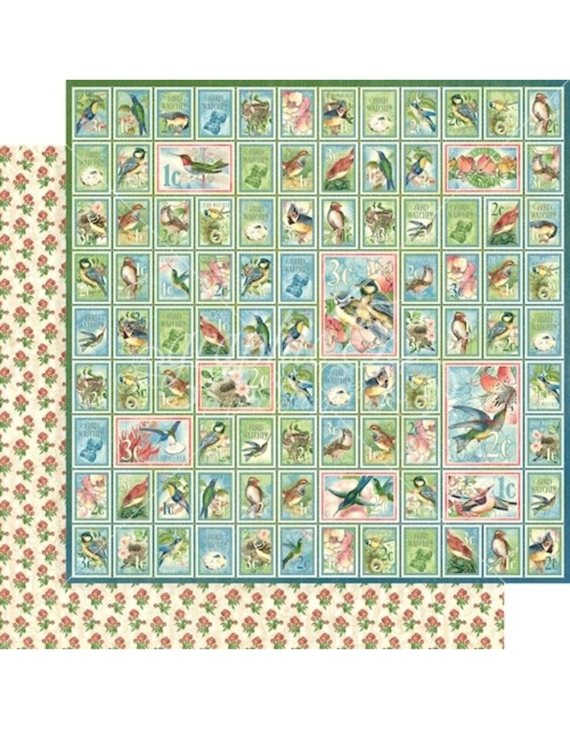 GRAPHIC45 Bird Watcher Paper: Best of Friends