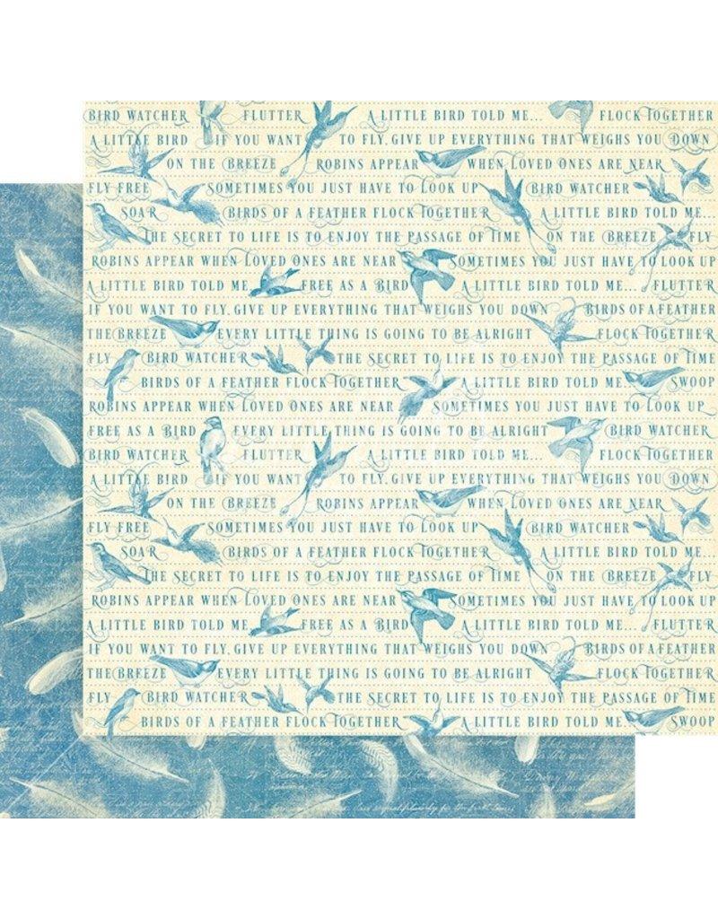 GRAPHIC45 Bird Watcher Paper: Feather Your Nest
