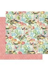 GRAPHIC45 Bird Watcher Paper: Just Breathe