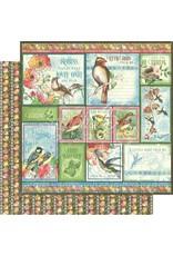 GRAPHIC45 Bird Watcher Paper: Look Up!