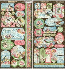 GRAPHIC45 Bird Watcher Stickers