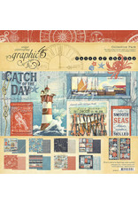 GRAPHIC45 Catch of the Day 12x12 Collection Pack