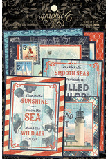 Graphic 45 Catch of the Day Journaling Cards