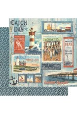 GRAPHIC45 Catch of the Day Paper: Catch of the Day