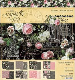 GRAPHIC45 Elegance 8x8 Paper Pad