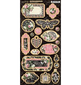 GRAPHIC45 Elegance Chipboard