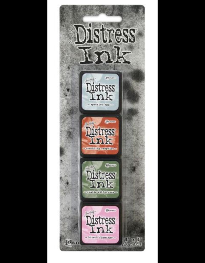 Tim Holtz Distress Mini Ink Pads  Kit #16