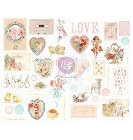 Magic Love: Chipboard Stickers