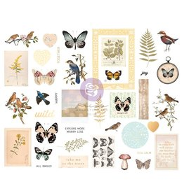 Nature Lover: Chipboard Sticker