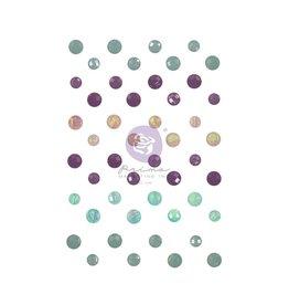 Watercolor Floral: Crystal Dots