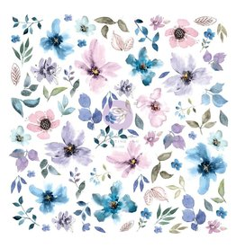 Watercolor Floral: Floral Diecut 77 pcs