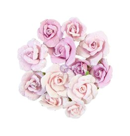 Watercolor Floral: Flower Grey Pigment