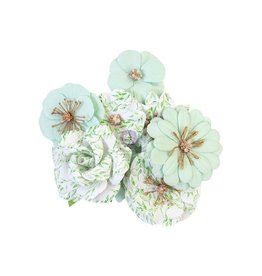 Watercolor Floral: Flower Minty Water
