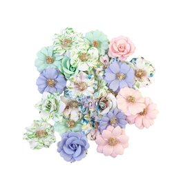 Watercolor Floral: Flower Tiny Color