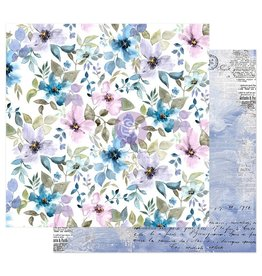 Watercolor Floral: Paper In The Water Garden