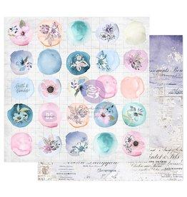 Watercolor Floral: Paper Watercolor Drops