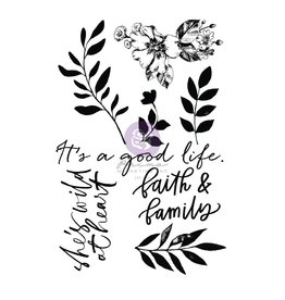 Watercolor Floral: Stamps