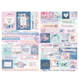 Watercolor Floral: Stickers