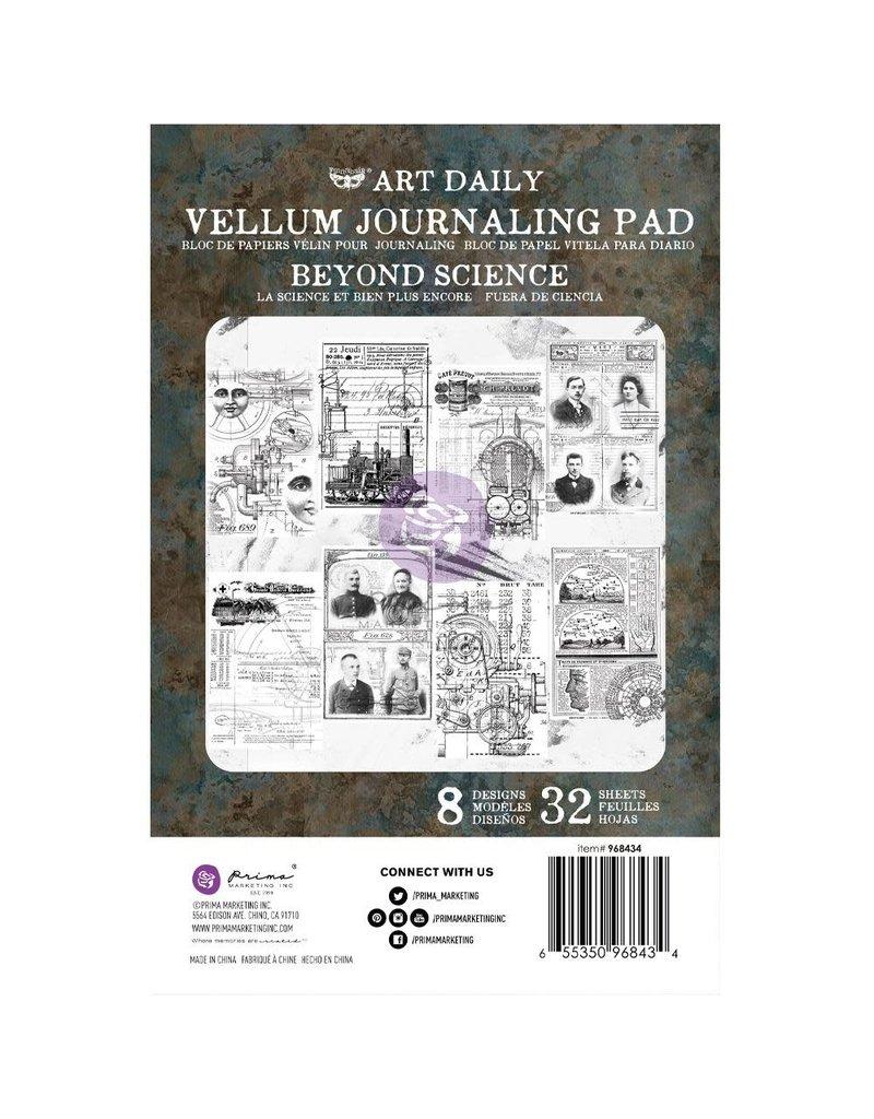 Art Daily: Vellum Pad Beyond Science