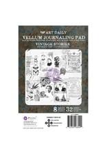 Art Daily: Vellum Pad Vintage Stori