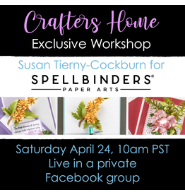 Creative Escape 04/24 Fanciful Flowers with Susan Tierny-Cockburn