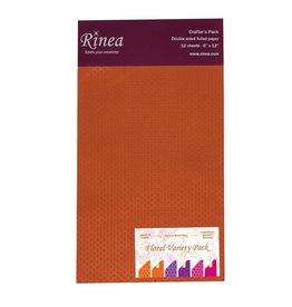 Rinea FLORAL FOILED PAPER VARIETY CRAFTER'S PACK