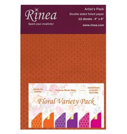 Rinea FLORAL PAPER VARIETY ARTIST'S PACK