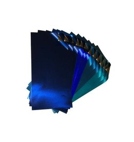 Rinea SHADES OF BLUE FOILED PAPER GLOSSY VARIETY