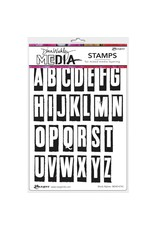 RANGER Blk Alphas Stamp