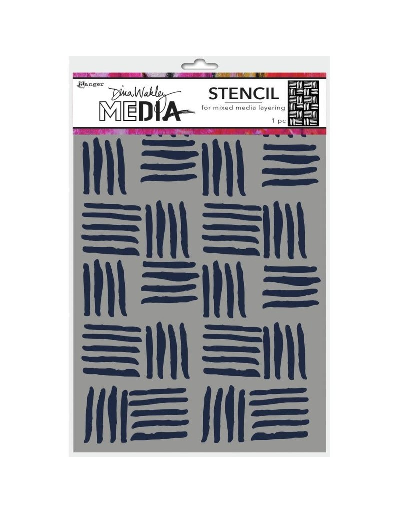 RANGER Cross Stitch Stencil