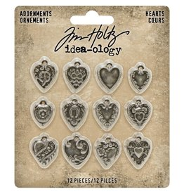ADVANTUS CORPORATION Hearts: Metal Adornments