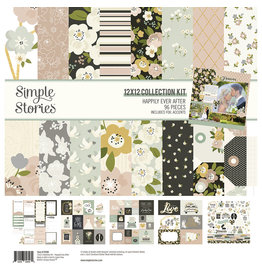 simple stories Happily Ever After - Collection Kit
