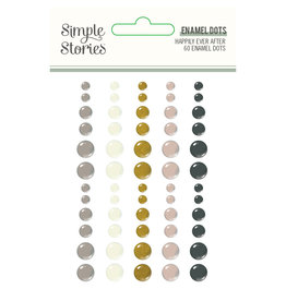 simple stories Happily Ever After - Enamel Dots