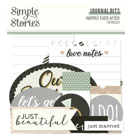 simple stories Happily Ever After - Journal Bits