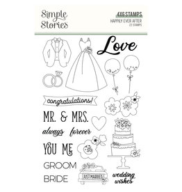 simple stories Happily Ever After - Stamps