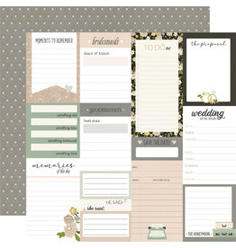 simple stories Happily Ever After Paper- Journal Elements
