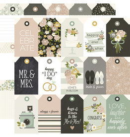 simple stories Happily Ever After Paper- Tags