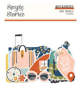 simple stories Safe Travels - Bits & Pieces