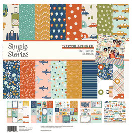 simple stories Safe Travels - Collection Kit