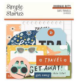 simple stories Safe Travels - Journal Bits