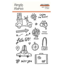 simple stories Safe Travels - Stamps
