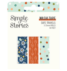simple stories Safe Travels - Washi Tape