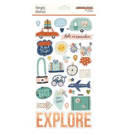 simple stories School Life - 6x12 Chipboard