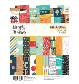 simple stories School Life - 6x8 Pad